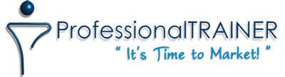 logo professional trainer marketing centro estetico